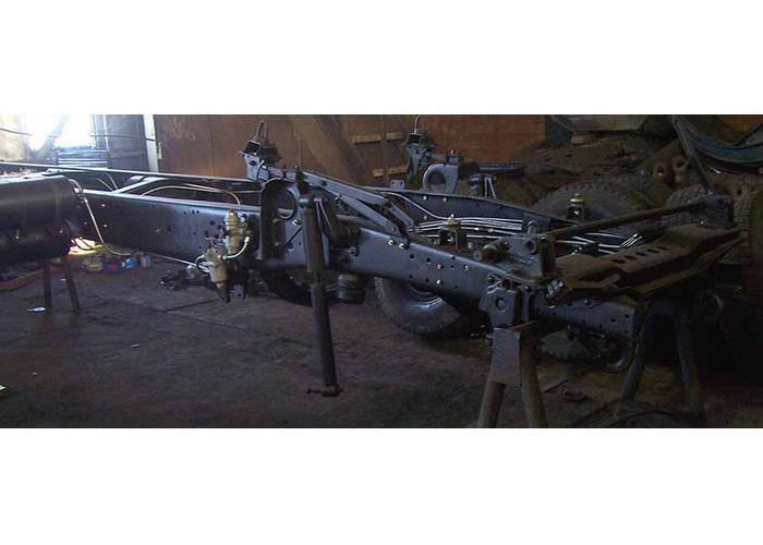 Привод тормозных механизмов.  КамАЗ-54115 сочетает в.